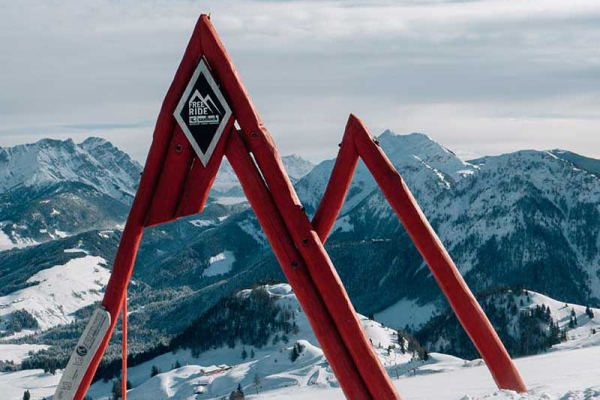 Saalbach Hinterglemm skigebiede