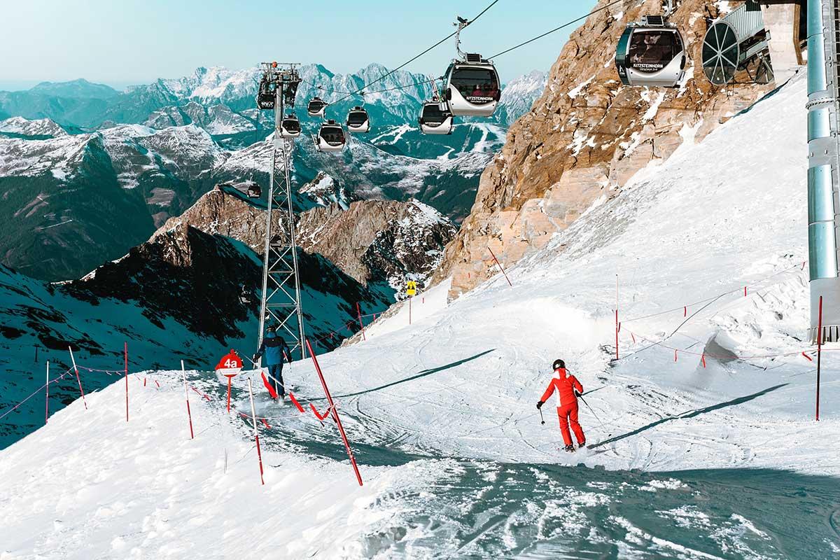 Kitzsteinhorn skigebiede Zell am See-Kaprun