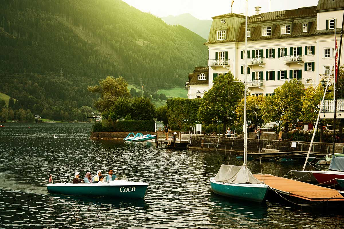 Zell am See zomer